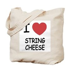 I heart string cheese Tote Bag