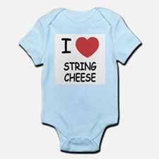 I heart string cheese Infant Bodysuit