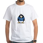 Best Dad penguin White T-Shirt