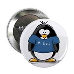 Best Dad penguin Button