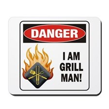 Grill Man Mousepad