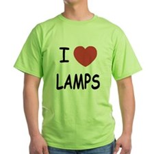 I heart lamps T-Shirt
