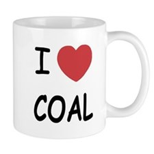 I heart coal Small Mug