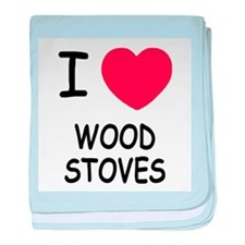 I heart wood stoves baby blanket