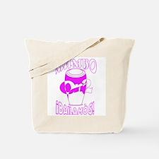 Pink MambOn2Bailamos Tote Bag