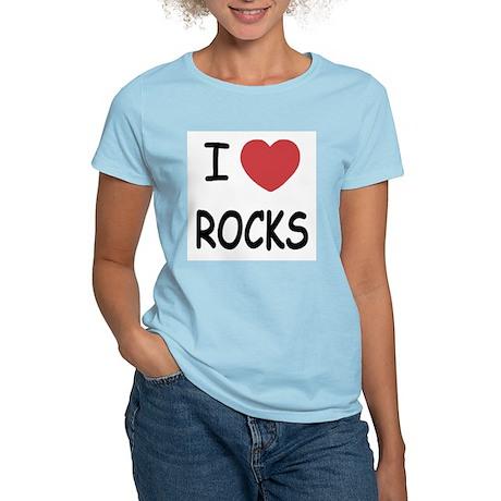 I heart rocks Women's Light T-Shirt