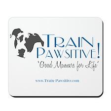 Train Pawsitive Mousepad