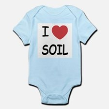 I heart soil Infant Bodysuit