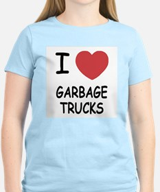 I heart garbage trucks T-Shirt