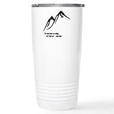Mountains Calling Travel Mug
