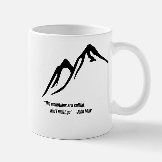 Mountains Calling Mug