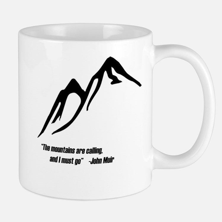 Mountains Calling Mug