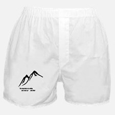 Mountains Calling Boxer Shorts