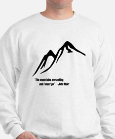 Mountains Calling Sweatshirt