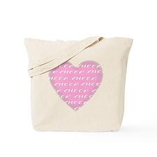 Cheer pink Tote Bag