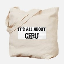 All about Cebu Tote Bag