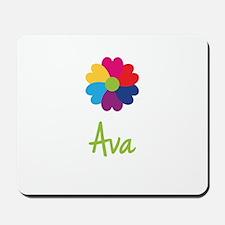 Ava Valentine Flower Mousepad