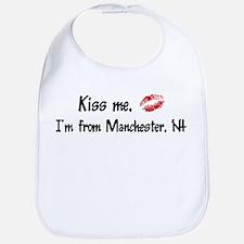 Kiss Me: Manchester Bib