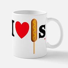 I Love Corn Dogs Mug