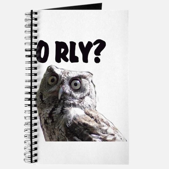O RLY? Journal