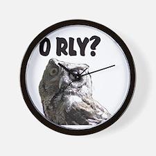 O RLY? Wall Clock