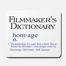 Film Dictionary: Homage Mousepad