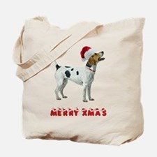 Foxhound Christmas Tote Bag