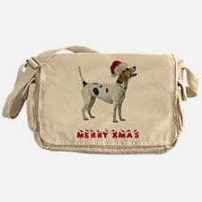 Foxhound Christmas Messenger Bag