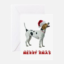 Foxhound Christmas Greeting Card