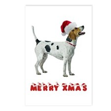 Foxhound Christmas Postcards (Package of 8)