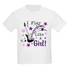 I Play Like A Girl T-Shirt