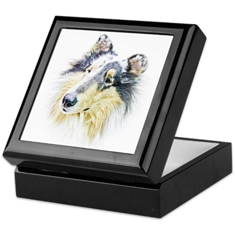 COLLIE - DOG Keepsake Box