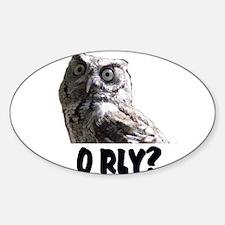 O RLY? Decal