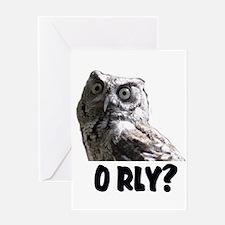 O RLY? Greeting Card