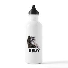 O RLY? Water Bottle