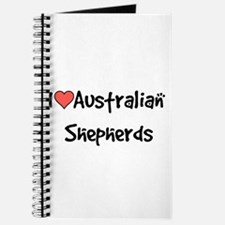I heart Australian Shepherds Journal