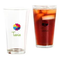Tania Valentine Flower Drinking Glass