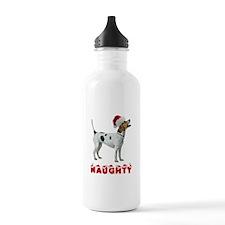 Naughty Foxhound Water Bottle