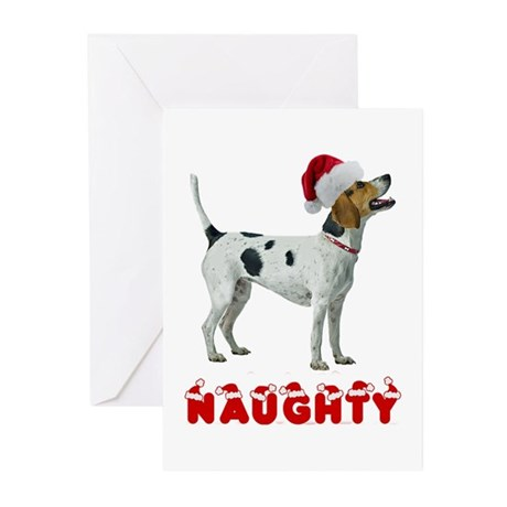 Naughty Foxhound Greeting Cards (Pk of 10)