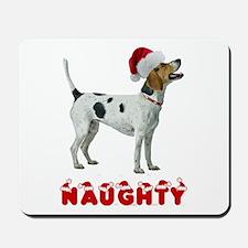 Naughty Foxhound Mousepad