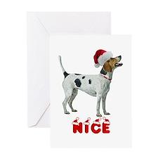 Nice Foxhound Greeting Card