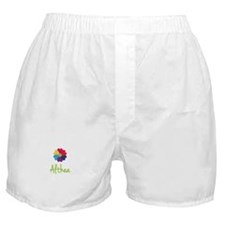 Althea Valentine Flower Boxer Shorts