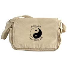 Funny Yin yang Messenger Bag