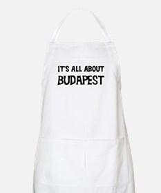 All about Budapest BBQ Apron