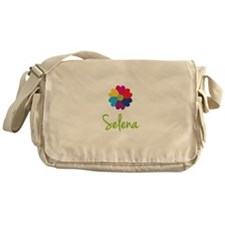 Selena Valentine Flower Messenger Bag