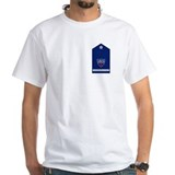 Coast guard auxiliary Mens White T-shirts
