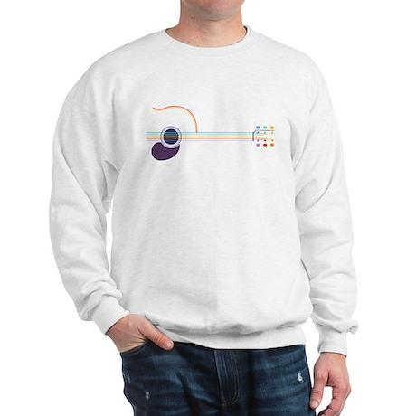Neon Guitar Sweatshirt