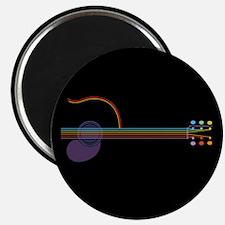 Neon Guitar Magnet