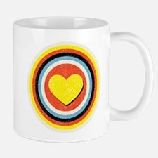 Bullseye Heart Mug