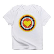 Bullseye Heart Infant T-Shirt